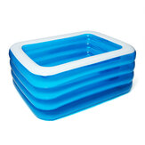 PVC 3/4 Schichten aufblasbarer Pool Camping Garden Ground Pool