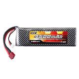 HG 7.4 V 4500mAh 30C 2S Lipo Bateria T Plug para P402 P401 P601 P801 P802 1/10 1/12 Peças Do Carro Rc QDBZ1001