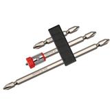 BROPPES2НабормагнитныхнаконечниковPhillips Отвертка со съемным намагничивающим кольцом PH2 Электрический Отвертка 1/4 дюймов Hex Shank