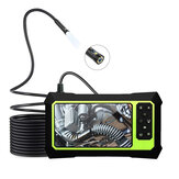 Bakeey 8MM Borescope Dual Lens 1080P HD Industrial Inspection Camera 8 Adjustable LED Light IP67 Waterproof 3000mAh TF Card Video Camera Flexible Hard Line 2/ 5M with 4.3inch LCD Screen