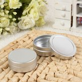 2pcs Empty Cosmetic Pot Jar Tin Aluminium Container Storage 10ml+20ml