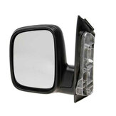 Door Wing Mirror Manual Black Left Right Side O/S N/S For Vw Caddy 2004-2015