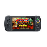 ANBERNIC PS5000 32GB 64GB 10000 Jogos 128 Bit Retro Handheld Game Console 5.1 polegadas IPS OLED HD Tela Suporte PS1 N64 MD CPS NEOGEO GB SFC Player com Gamepad