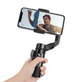 BlitzWolf® BW-BS14 Pro Estabilizador Gimbal de 3 eixos com duplo zoom móvel Time-lapse Selfie Sticks dobráveis Tripé para celular com câmera de ação