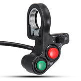22mm Handlebar Light Horn Aan / Uit Signal Indicator Switch Voor Motorcycle E-bike