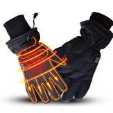 WARMSPACE 7.4 V 3000 mah Elektrik Isıtmalı Eldivenler Motosiklet Kış Isıtıcı Outdoor Kayak