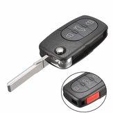 4 przycisk 315Hz Car Flip Keyless Entry Remote Fob dla Volkswagen Beetle Golf Jett