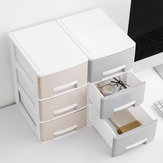 Mini Home Desk Nette Desktop lade Make-up sieraden ketting Box Desktop Organizer opslag