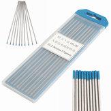 10 Stücke Wolfram 2 Prozent Lanthanated Blue Tip WIG Elektroden WL20 Schweißstäbe
