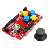 JoyStick Shield Game Expansion Board Analog Keyboard With Mouse Function Geekcreit for Arduino - products that work with official Arduino boards