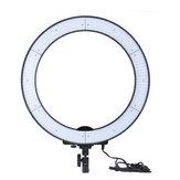LA-650D Photo Studio Ring Light LED Lamp Photographic Lighting 40W 5500K with 600LED Lights
