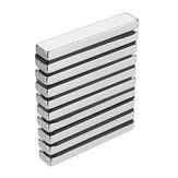 10шт N50 50х10х5мм Блок Магнит Редкоземельные неодимовые магниты