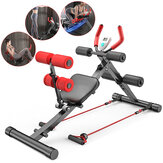 Banc réglable multifonction 4 leviers Sit Up Abdominal Trainer Exercise Banc Home Gym Fitness