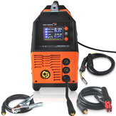 MIG-200AL 6 in 1 220V Inverter Ark Elektrik Kaynak Makinesi MIG / MMA / LIFT TIG / PULSE AlMg / PULSE AlSi / DOUBLE PULSE Welder for Welding Electric Working LCD Ekran