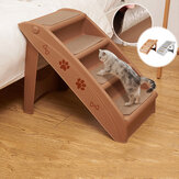 4 Steps Stairs for Small Dog Cat Dog House Pet Ramp Ladder Anti-slip Removable Dogs Bed Pet Folding Stairs