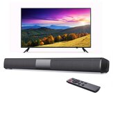 Bakeey BS-28D 20 W bluetooth Speaker TV Soundbar Home Theater HiFi 3D Surround Bass Bass FM Raido TF Cartão AUX Alto-falantes para TV Computer PS4 Telefone