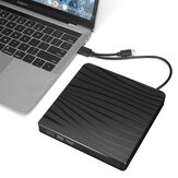USB 3.0 External DVD CD Drive Type-C Slim Portable External DVD_CD RW Burner Drive for Laptop Desktop