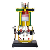 SHUNMA 31009 Four-stroke Metal Diesel Internal Combustion Engine Teaching Instrument Physics Experiment Model