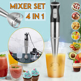 SOKANY 220V 4IN1 Hand Held Stick Blender Mixeur Électrique En Acier Inoxydable Smoothie