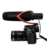 Comica CVM-V30 PRO الة تصوير ميكروفون كهربائي سوبر كارديو مكثف اتجاهي فيديو ميكروفون لـ فيديو مقابلة DSLR الة تصوير كاميرا أحمر
