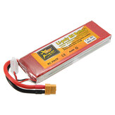 ZOP Power 7.4V 5000mAh 60C 2S Lipo Batterie XT60 Stecker für Rc Racing Car