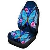 Heavy Duty Car Front Seat Cover Protector Cushion Breathable Butterfly