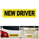 New Driver Car Stickers Magnet Reflective Decal Safety Caution Warning Sign