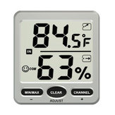 TS-WS-07-C1 8 Channel Wireless Weather Station Indoor Outdoor Thermometer Hygrometer Console