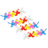 20PCS 31mm 4-blade Propeller for LDARC TINY 6 6X Tiny Whoop Eachine E010 E010C E010S RC Quadcopter