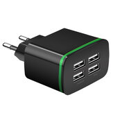 Bakeey 4USBポートQC3.0Fast Charge 4A USB Charger for Samsung for iPhone Huawei