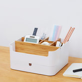 CHENGSHE Multi-functional Desktop Storage Box Organizer Bamboo Cosmetic Storage Display Drawer Box from Xiaomi Youpin