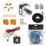 Creality 3D® Ender-5 Pro Wearing Parts Package with 42-40 Motor Kit/PTEF TUbe/Cooling Fans/Timing Belt/Coupling