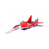 Mig-29 650mm Wingspan Glue-N-Go Foamboard Red EPP RC飛行機キット