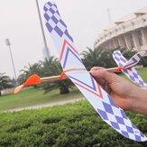 5PCS DIY espuma de avião elástico borracha banda Powered modelo de aeronaves modelo de jogo