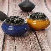 Ceramic Incense Burners Portable Porcelain Censer Buddhism Incense Holder for Home Tea House Yoga Studio