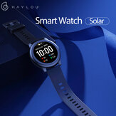 [BT 5.0] Haylou Solar LS05 Layar Penuh Putaran Gelang 12 Mode Sport Tracker Heart Rate Monitor 30 Hari Siaga Cerdas Menonton Global Version
