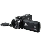 4K Ultra HD 30MP 18X Zoom WIFI Digital Video Camera DV Camcorder 270 Degree Rotation Touch Screen Video Recording Camera