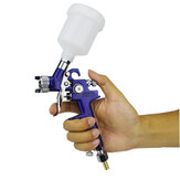 0.8mm/1.0mm Nozzle H-2000 Professional HVLP Spray G un Mini Air Paint Spray Guns Airbrush For Painting Car Aerograph