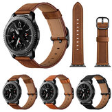 Bakeey 22mm 360 Genuine Leather Replacement Strap Smart Watch Band for Samsung Gear S3
