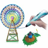 Smart 3D Drawing Printing Pen Children DIY Painting Art Learning Educational Puzzle Toys Gift Collection