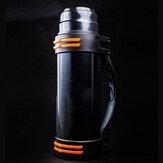 [Kimden] FO 1000ml Su Şişeleri Yalıtımlı 304 Paslanmaz Çelik Vakum Bardak Termos Şişesi Çok Oyunculu Spor Kampçılık Seyahat için Yalıtım Potu Kullanır