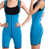 Womens Shapewear Full Body Sweat Shaper Fitness Gym Sport Slimming Keep Fit Sauna Suit Vest