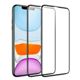 BlitzWolf® BW-AY1 2pcs 0.23mm 3D Soft Curved Edge Full Cover Scratch Resistant Tempered Glass Screen Protector For iPhone X/XR/XS/XS Max/11/11 Pro/11 Pro Max