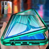 Bakeey لـ Xiaomi Mi 10T Pro / Xiaomi Mi10T حافظة 360º مغناطيسية فليب لمس شاشة على الوجهين 9H زجاج مقسى + جسم معدني كامل Pro حافظة غير أصلية