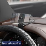 Sumitap Magnetic HUD Car Phone Holder Quiet 360° Folding Bracket Vehicle Dashboard Rearview Mirror Sun Visor For All Smartphone