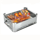 Multi-function Stainless Steel Fish Grill Oven Out Door Grill Oven Camp Grill Furnace