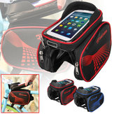 BIKIGHT EVA Bike Front Frame Bag لمس شاشة هاتف Bag IP65 ضد للماء Bicycle Bag