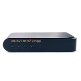 iBRAVEBOX V8S HD DVB-S DVB-S2 1080P HD TV vía satélite digital Receptor Soporte Youtube PowerVu DRE Biss