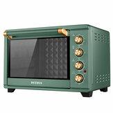 PETRUS PE2030 Elektrische Oven 1500 W 5L Aanrecht Oven Rotisserie Koffiebrander Fornuis Bakplaat Bovenrek Broodrooster