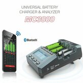 SKYRC MC3000 Caricatore universale Batteria multi-chimica con controllo APP Bluetooth intelligente